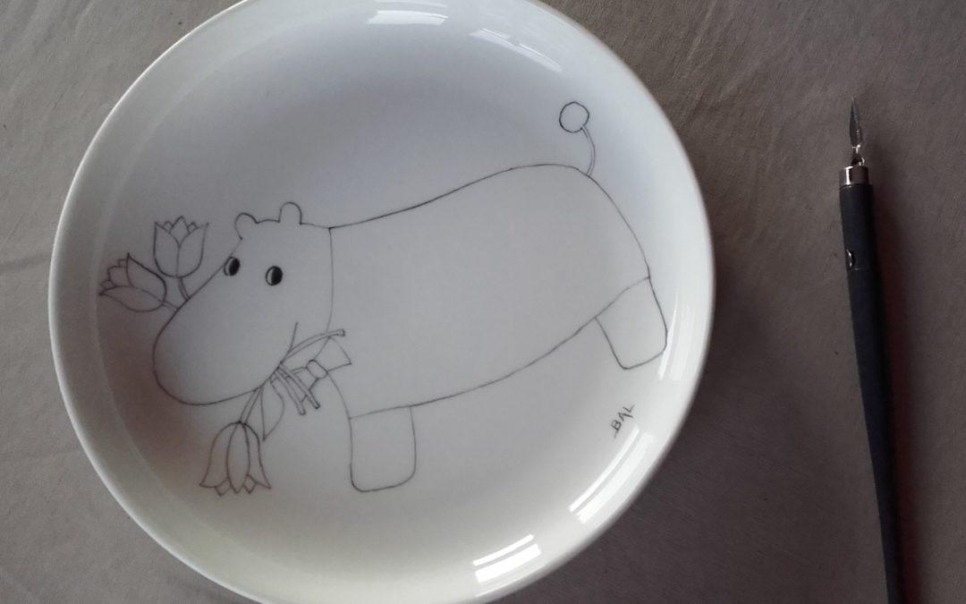 l'hippopotame pas à pas
